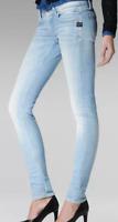 G-Star Lynn Mid Waist Skinny Jeans Light Aged Blue Ladies Size UK W32 L32*REF141