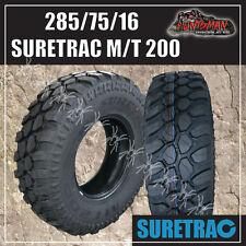 "4WD MUD TYRE 285/75R16 L/T Suretrac MT200  M/T 4X4 OFF ROAD 285 75 16  33"""