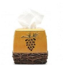 Blonder Home Northern Pine Tissue Box Cover Lodge