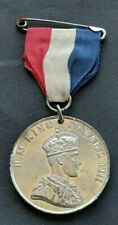"""EDWARD 8 """"CORONATION"""" MEDAL: NOT CROWNED 12 MAY 1937 ABDICATED 10 DEC 1936"""