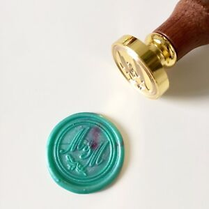 Personalized Initials or Name Wax Seal Stamp for Wedding