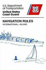 Navigation Rules: International-Inland by Transportation Dept., Coast Guard, S/