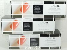 CND FOIL REMOVER WRAPS Gel Polish Removal : 3 Wraps 250 Pack