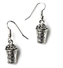 Popcorn Earrings - Movie Accessories - Women's Jewelry - Handmade - Gift Box