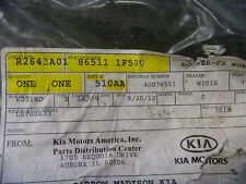 2009 2010 Kia Sportage Front Bumper Cover Genuine OEM Factory New 865111F500