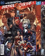 JUSTICE LEAGUE VS. SUICIDE SQUAD #1,2,3,4,5,6 DC Comics Harley Quinn SET & BONUS