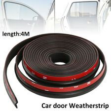 4M 160'' Z-shape Window Door Rubber Seal Strip Hollow Weatherstrip For Car Motor