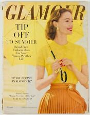 FIELDER COOK Frances McLaughin BOB WILLOUGHBY Glenn Gould ~ USA Glamour magazine
