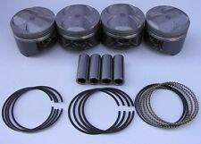 JDM NIPPON RACING P30 B16A B20 VTEC PISTON SET SIR II NPR 84mm Big Bore Hot NEW