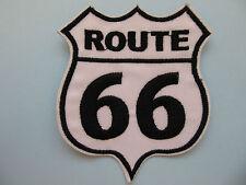 Ruta 66 American Highway señal de tráfico de Hierro en apliques Parches