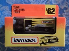 Matchbox Volvo Container Truck MB#62