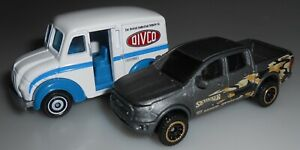 Matchbox Moving Parts Lot of 2 Divco Milk Truck 2019 Ford Ranger, 2020 Loose