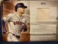 2020 Topps Series 2 Alex Bregman Game Used Jersey With Dirt On Jersey⚾️🔥