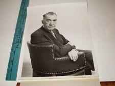Rare Historical Original VTG Author Robert E Sherwood Backbone of America Photo
