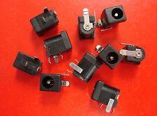 KLDX-0202-AC PCB Mount 2.0mm DC Power Supply Jack 3-Pin, 2.5x5.5mm, Qty.10
