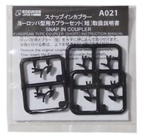 Rokuhan Z gauge A021 Europe type coupler short 6 pieces