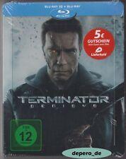 """TERMINATOR GENISYS"" - Schwarzenegger - 3D + 2D BLU RAY STEELBOOK - Rar OOP"