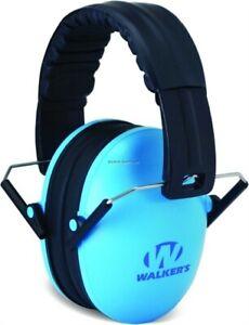 Walker Lightweight Passive Baby/Kids Folding Earmuff 23 db Blue GWPFKDMBL