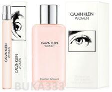 Calvin Klein WOMEN 2-pc set: Eau de Parfum Pen Spray & Shower Gel, FULL SIZE