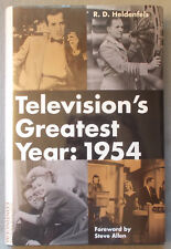 1954 TELEVISION'S GREATEST YEAR by Heldenfels I LOVE LUCY Edward R. Murrow