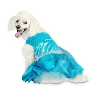 Bootique S Belle of the Ball Dog Halloween Costume Blue Princess Dress Small