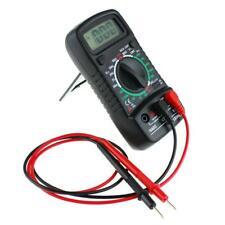 Black Electronic Measuring Instrument  LCD Digital Multimeter