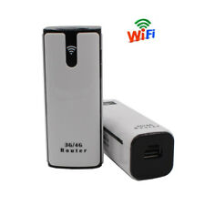 3G Portable Mobile Wireless Router with SIM Card Slot Mini Powerbank WiFi Router