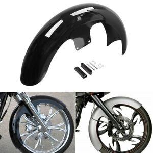 "21"" Wheel Wrap Front Fender For Harley Custom Bagger Touring Electra Road Glide"