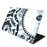 Laptop Folie Aufkleber Schutzfolie Cover für Notebook Skin Zahnrad 13-17 Zoll