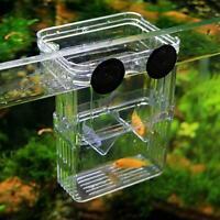 Aquarium Fish Breeding Box Hatchery Shrimp Fish Tank Incub Isolation