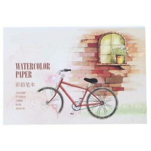 Watercolour Paper Art Artist Sketchbook Sketch Pad Journal Drawing Painting