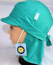 UV Schutz KU 51 52 53 54 55 Nacken Schutz binden Bandana Piratentuch Kinder blau
