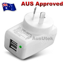 Dual USB Port AU Plug 2.4A AC Power Travel Home Wall Charger Smartphone Samsung