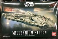 Bandai 1/144 Star Wars Millenium FalconThe Last Jedi  Plastic Model Kit