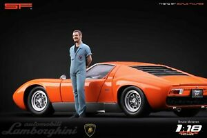 1/18 Valentino BALBONI von SF Scale Figures für CMC Autoart Exoto