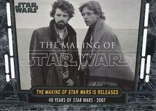 Star Wars 40th Anniversary Base Card #91 The Making of Star Wars is Released