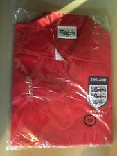BNIP New Promo England Carlsberg Polo Shirt - Crest 3 Lions - Red Size 12