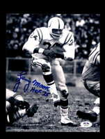 Lenny Moore PSA DNA HOF 75 Signed Baltimore Colts 8x10 Autograph Photo