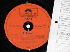 SAGA -In Transit- LP 1982 Polydor Archiv-Copy mint