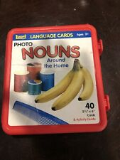 "Lauri Photo Language Cards Actions, 40 Cards, 5.5 x 6"" Activity (Distress Label)"