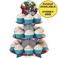 AVENGERS PARTY SUPPLIES CUPCAKE STAND WILTON CAKE TREAT HOLDER SUPERHERO
