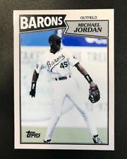 #45 Michael Jordan Birmingham Barons Custom Minor League Baseball Card (RC)