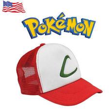 USA Stock Anime Pokemon ASH KETCHUM trainer costume cosplay Hat Cap Xmas Gift