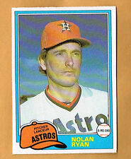 1981 OPC Nolan Ryan #240 GRAY BACK
