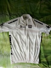 SMS Santini original man cycling jersey.Full zip top.Back pockets.Size XXL.Italy