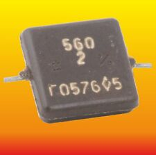 560 pF 500 V 2 % LOT OF 4 RUSSIAN MILITARY SILVER-MICA CAPACITOR KSO-5G КСО-5Г