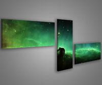 Quadri moderni astratti 180 x 70 stampe su tela canvas con telaio MIX-S_138