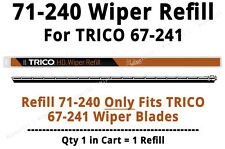TRICO 71-240 HD Wiper Refill fits TRICO 67-241 ONLY (1 Refill) - 71-240