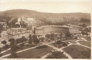 Derbyshire Postcard - Buxton from The Town Hall - Ref TZ6126