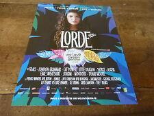 LORDE - We love green !!! Publicité de magazine / Advert !!!